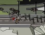 停车场僵尸大战