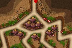 气球塔防4无敌版(小猴子守城4无敌版)