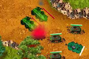 峡谷坦克塔防战无敌版