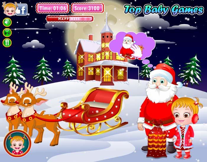 【可爱宝贝圣诞之梦小游戏】免费在线玩