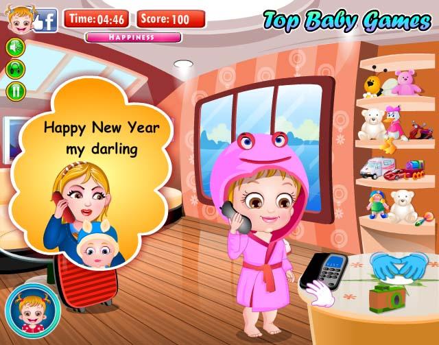 【可爱宝贝迎新年小游戏】免费在线玩