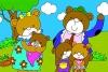 快乐的小熊一家