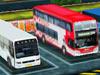 3D停靠大巴士