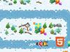 圣诞爷爷滑雪橇