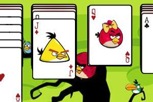 愤怒的小鸟纸牌接龙