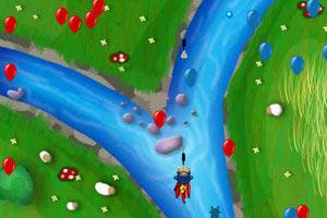 超人猴子射气球无敌版