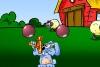 小兔子射气球