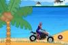 蜘蛛侠海滩摩托驾驶