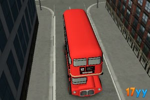 3D伦敦巴士停车