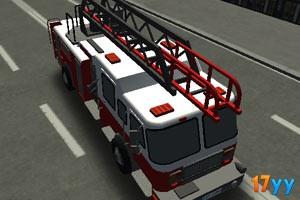 3D疯狂消防车停车