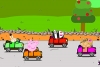 粉红小猪汽车比