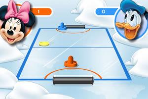 米老鼠打冰球