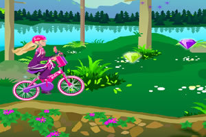 芭比骑自行车