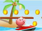 存钱罐海上冲浪