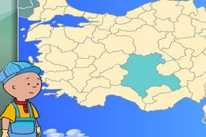 国家地图标记