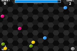 彩色斑点球