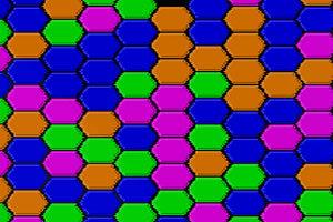 彩色多边形