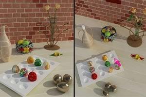 复活节彩蛋找不同