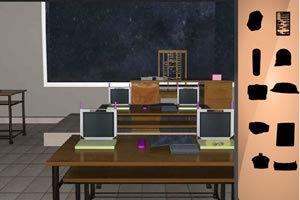 学校教室寻物