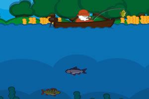 老渔夫钓鱼