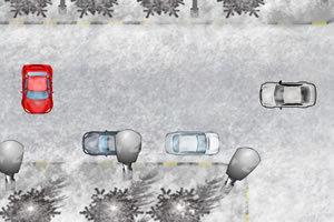 冰冻停车场