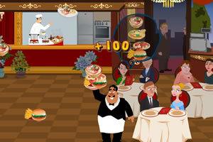 餐厅服务员