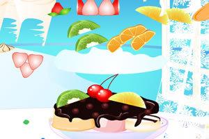 制作冰淇淋甜点