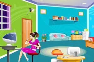 设计女生卧室
