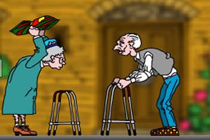 体验老人生活