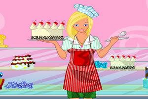 蛋糕店女生
