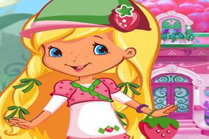 城堡里的草莓公主