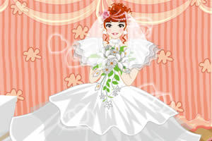为新娘设计发型