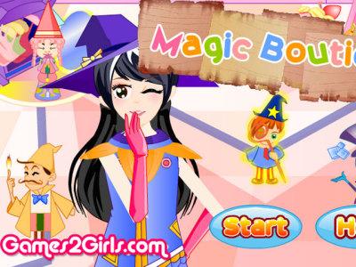女巫魔法商店