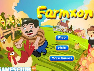 农夫一家人