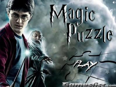 哈利波特魔法拼图