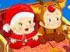 双胞胎宝宝的圣诞节