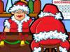 圣诞老人泡酒吧