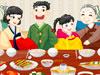布置韩式家庭聚会