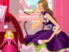 美女粉红芭比卧室