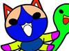 太鼓达人填颜色之可爱小猫