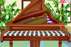 键盘弹钢琴