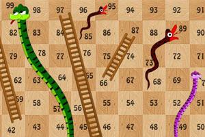长蛇阶梯飞行棋
