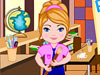 小公主清理教室