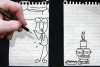 铅笔画小人7