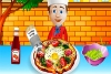 鸡蛋披萨饼