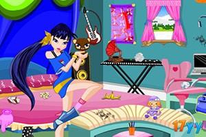 魔法俏佳人打扫房间