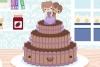 卡哇伊婚礼蛋糕