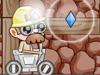 矿工开采矿车
