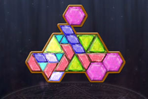 宝石拼图游戏