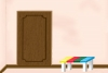 逃出彩色条凳房间
